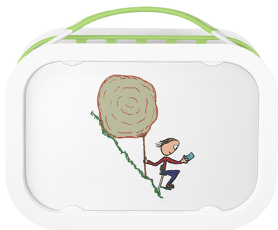 Sisyphus takes a break lunchbox